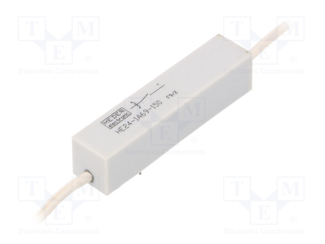 HE24-1A69-150_Relay: reed; SPST-NO; Ucoil:24VDC; 5A; max.10kVDC; max.10kVAC; 50W