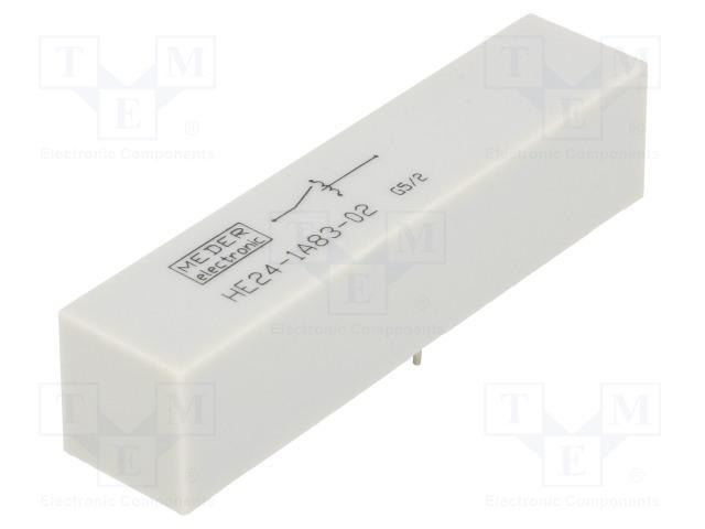 HE24-1A83-02_Relay: reed; SPST-NO; Ucoil:24VDC; 5A; max.7.5kVDC; max.7.5kVAC
