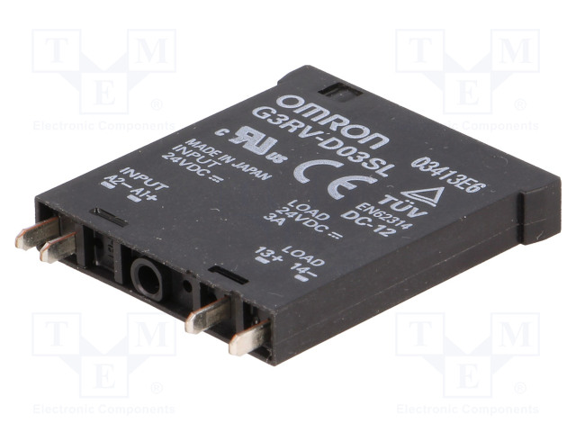 G3RV-D03SL 24DC_Relay: solid state; 3A; Series: G3RV