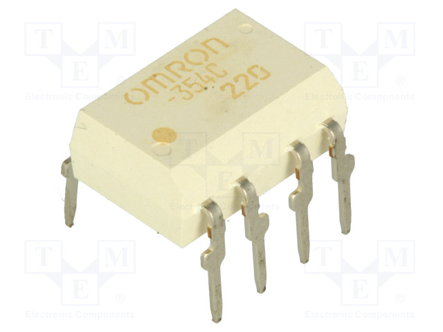 G3VM-354C_Relay: solid state; DPST-NC; Icntrl:25mA; 150mA; max.350VAC; THT