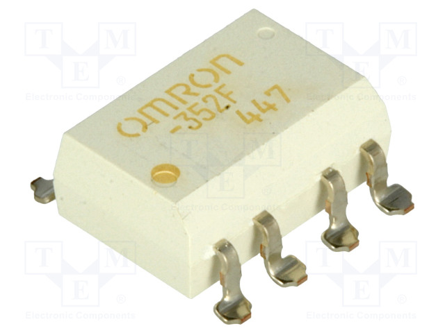 G3VM-352F_Relay: solid state; DPST-NO; Icntrl:25mA; 120mA; max.350VAC; SMT