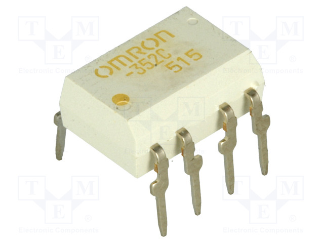 G3VM-352C_Relay: solid state; DPST-NO; Icntrl:25mA; 120mA; max.350VAC; THT