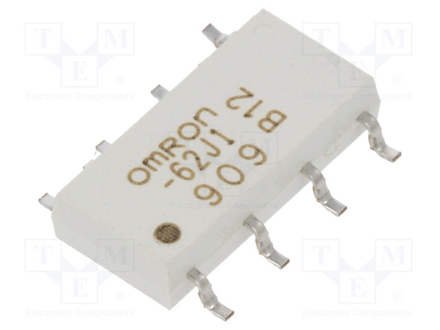 G3VM-62J1_Relay: solid state; DPST-NO; Icntrl:25mA; 400mA; max.60VAC; SMT