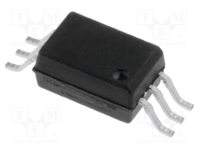 G3VM-61H1_Relay: solid state; SPST-NO; Icntrl:25mA; 400mA; max.60VAC; SMT