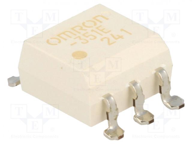 G3VM-351E_Relay: solid state; SPST-NO; Icntrl:25mA; 120mA; max.350VAC; SMT