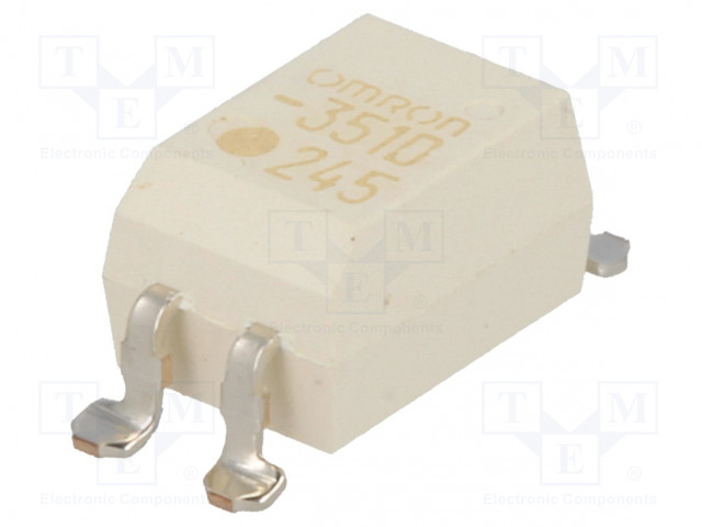 G3VM-351D_Relay: solid state; SPST-NO; Icntrl:25mA; 120mA; max.350VAC; SMT