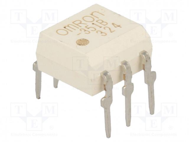 G3VM-351B_Relay: solid state; SPST-NO; Icntrl:25mA; 120mA; max.350VAC; THT