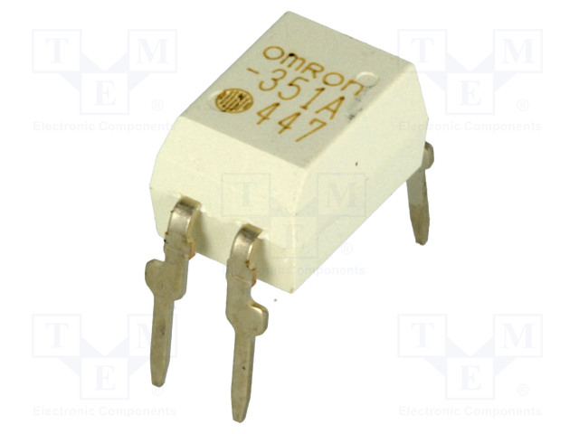 G3VM-351A_Relay: solid state; SPST-NO; Icntrl:25mA; 120mA; max.350VAC; THT