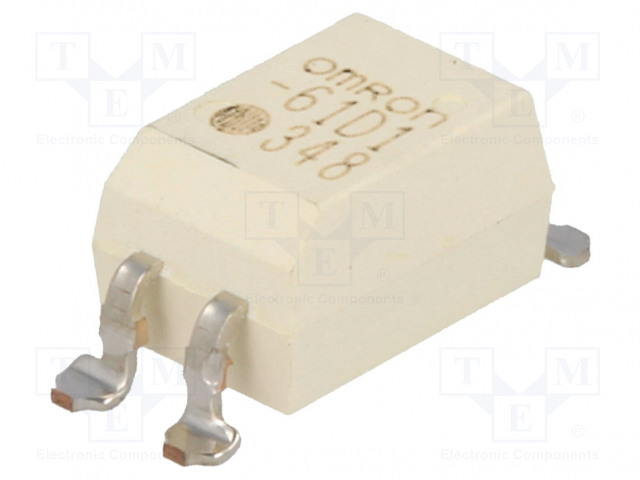 G3VM-61D1_Relay: solid state; SPST-NO; Icntrl:25mA; 500mA; max.60VAC; SMT
