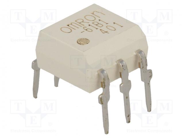 G3VM-61B1_Relay: solid state; SPST-NO; Icntrl:25mA; 500mA; max.60VAC; THT