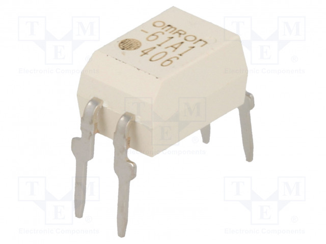 G3VM-61A1_Relay: solid state; SPST-NO; Icntrl:25mA; 500mA; max.60VAC; THT