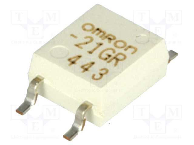 G3VM-21GR_Relay: solid state; SPST-NO; Icntrl:30mA; 160mA; max.20VAC; SMT