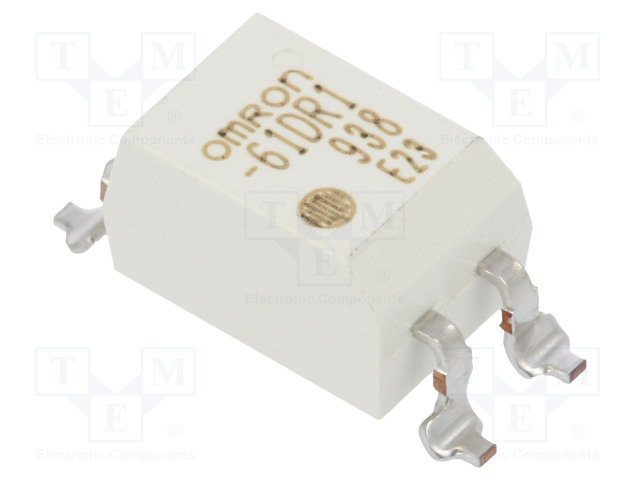 G3VM-61DR1_Relay: solid state; SPST-NO; Icntrl:30mA; 3000mA; max.60VAC; SMT