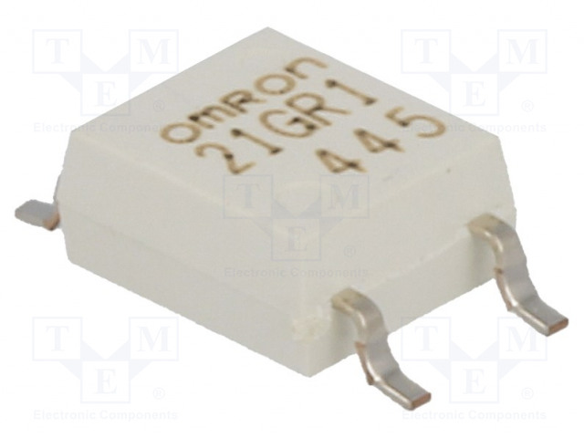 G3VM-21GR1_Relay: solid state; SPST-NO; Icntrl:30mA; 300mA; max.20VAC; SMT