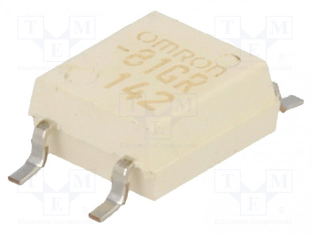 G3VM-81GR_Relay: solid state; SPST-NO; Icntrl:30mA; 40mA; max.80VAC; SMT