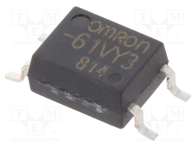 G3VM-61VY3_Relay: solid state; SPST-NO; Icntrl:3mA; 700mA; max.60VAC; SMT