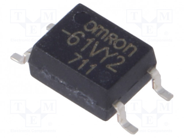 G3VM-61VY2_Relay: solid state; SPST-NO; Icntrl:7.5mA; 500mA; max.60VAC; SMT