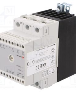 RGC2P60V25C1DM_Relay: solid state; Ucntrl:0÷10VDC; 25A; 180÷660VAC; 2-phase; IP20