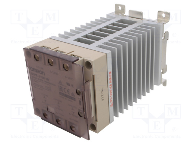 G3PE-215B-3N 12-24DC_Relay: solid state; Ucntrl:12÷24VDC; 15A; 100÷240VAC; 3-phase
