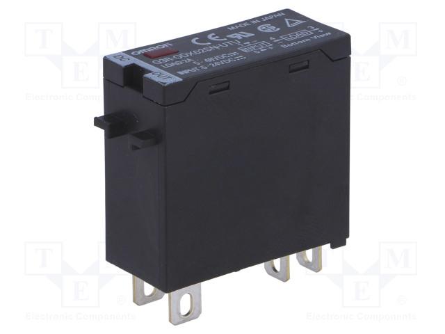 G3R-ODX02SN-UTU 5-24DC_Relay: solid state; Ucntrl:24VDC; 2A; 4÷60VDC; Series: G3R