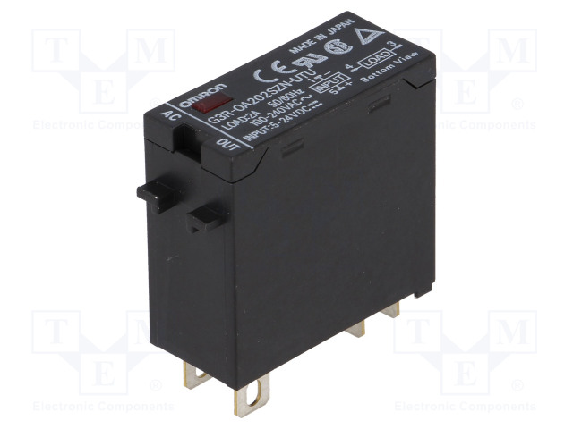 G3R-OA202SZN-UTU 5-24DC_Relay: solid state; Ucntrl:24VDC; 2A; 75÷264VAC; Series: G3R