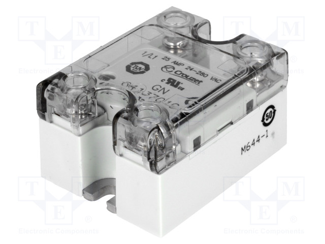 84137010_Relay: solid state; Ucntrl:3÷32VDC; 25A; 24÷280VAC
