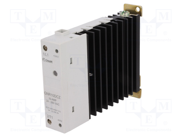GNR10DCZ_Relay: solid state; Ucntrl:4÷32VDC; 10A; 24÷280VAC; DIN