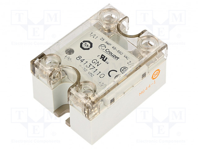 84137110_Relay: solid state; Ucntrl:4÷32VDC; 25A; 48÷660VAC