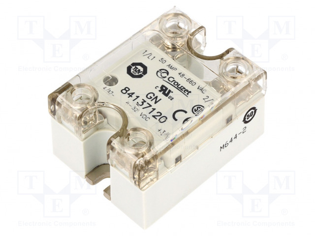 84137120_Relay: solid state; Ucntrl:4÷32VDC; 50A; 48÷660VAC
