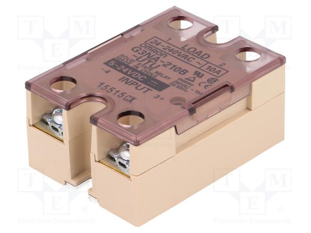 G3NA-210B-UTU 5-24DC_Relay: solid state; Ucntrl:5÷24VDC; 10A; 24÷240VAC; -30÷80°C