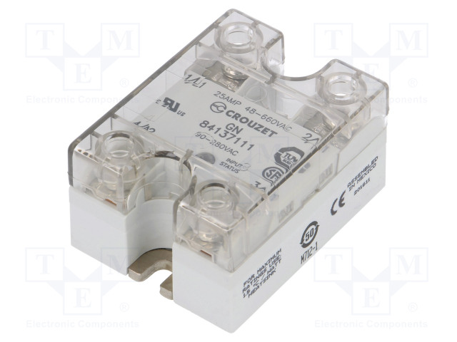 84137111_Relay: solid state; Ucntrl:90÷280VAC; 25A; 48÷660VAC