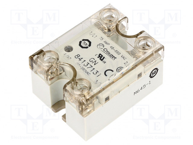 84137131_Relay: solid state; Ucntrl:90÷280VAC; 75A; 48÷660VAC