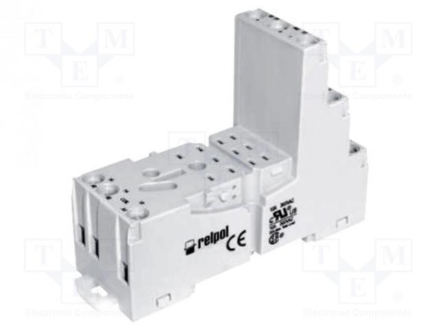 GZM3_Socket; PIN:11; 10A; 300VAC; Mounting: DIN