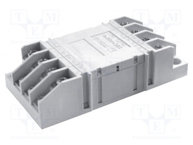 GZ14Z_Socket; PIN:14; 10A; 250VAC; Mounting: on panel; Series: R15