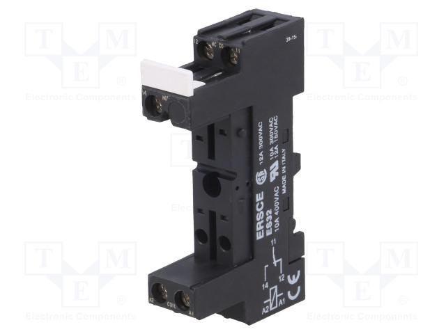 ES 32_Socket; PIN:5; Mounting: DIN; Series: RM96-1P