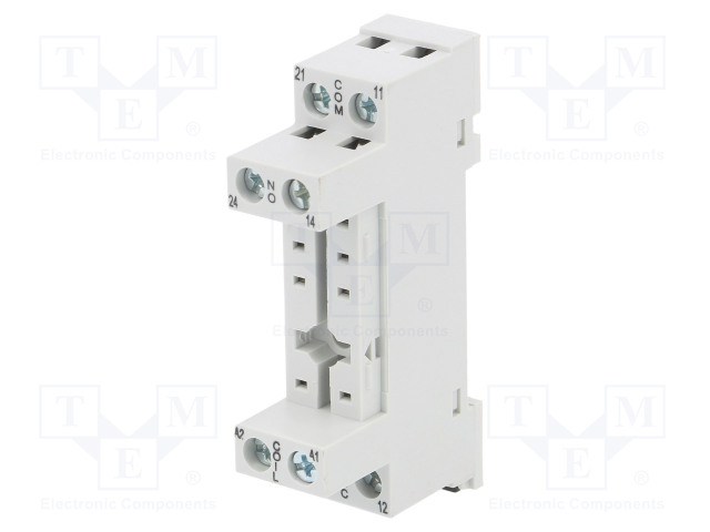 GZF80_Socket; PIN:8; 10A; 250VAC; Mounting: DIN