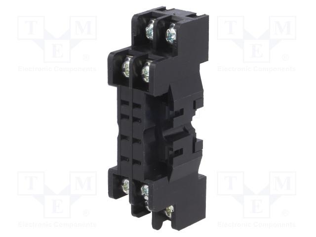 GZ2_Socket; PIN:8; 7A; 250VAC; Mounting: DIN