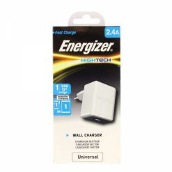 ACA1BEUHWH3_ENERGIZER TRAVEL CHARGER 2.4Amp white