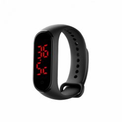 LCSTHERBLK_CONTACT THERMOMETER BRACHELET black
