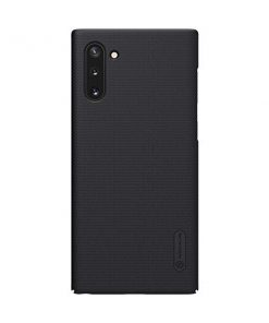 N2349_NILLKIN SUPER FROSTED SHIELD CASE SAMUSNG NOTE 10 black backcover