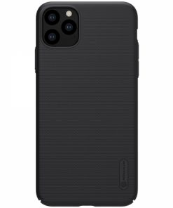 N4145_NILLKIN SUPER FROSTED SHIELD CASE IPHONE 11 PRO MAX black backcover