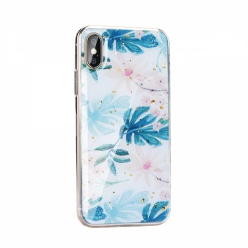 SM1IPHXIM_SPD 2 SENSO MARBLE LEAVES IPHONE 11 PRO MAX (6.5) backcover