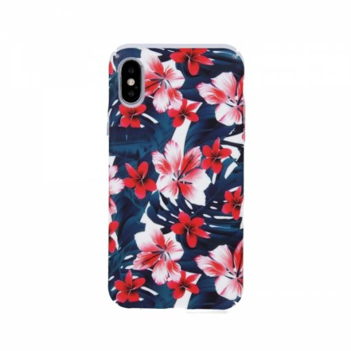 SPCS1HUAY619_SENSO PC CASE FLOWER1 HUAWEI Y6 2019 SPECIAL EDITION backcover